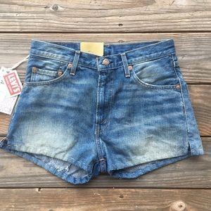 Levis vintage clothing big E wedgie short NEW